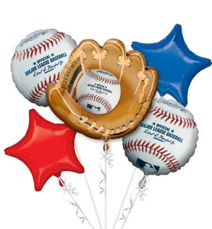 MLB Balloon Bouquet 5pc - Rawlings