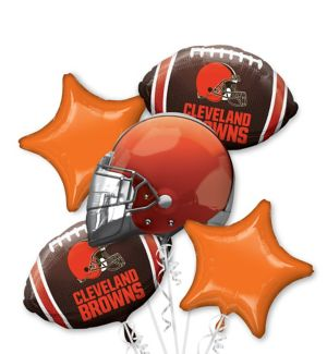 Cleveland Browns Balloon Bouquet 5pc