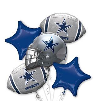 Dallas Cowboys Balloon Bouquet 5pc