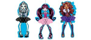 Monster High Honeycomb Balls 3ct