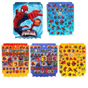 Jumbo Spider-Man Sticker Book 8 Sheets