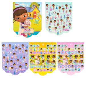 Jumbo Doc McStuffins Sticker Book 8 Sheets
