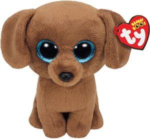 Dougie Beanie Boo Dachshund Dog Plush