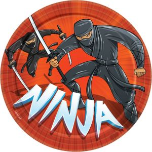 Ninja Lunch Plates 8ct