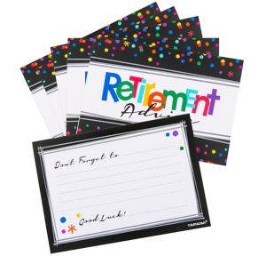 Happy Retirement Celebration Advice Cards 24ct
