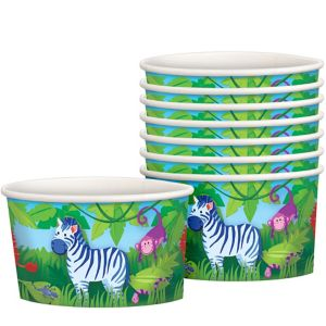 Jungle Animals Treat Cups 8ct