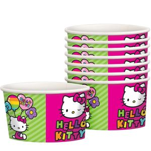 Rainbow Hello Kitty Treat Cups 8ct