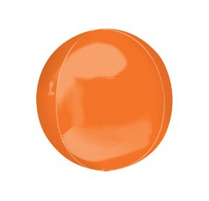 Orange Orbz Balloon