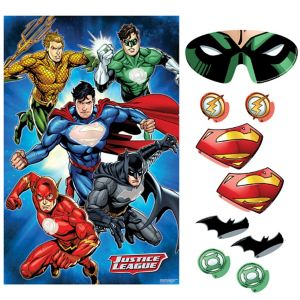 Justice League Party Game 10pc