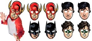 Justice League Masks 8ct