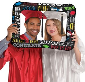 Inflatable Multicolor Graduation Frame