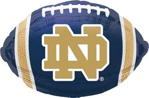 Notre Dame Fighting Irish Balloon - Football