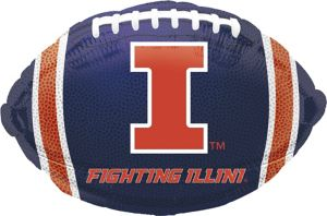 Illinois Fighting Illini Balloon - Football
