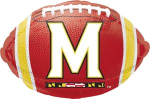 Maryland Terrapins Balloon - Football