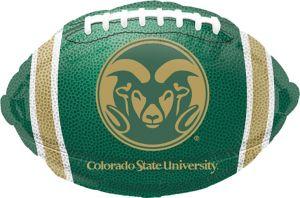 Colorado State Rams Balloon - Football
