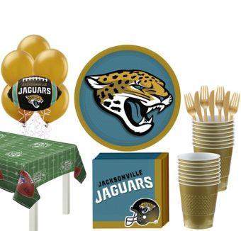 Jacksonville Jaguars Super Party Kit for 18 Guests