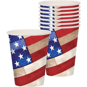 Rustic Americana Cups 18ct