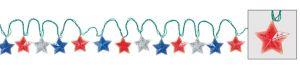 Patriotic Stars String Lights
