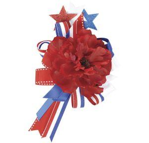 Red, White & Blue Hair Clip