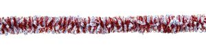 Red Patriotic Tinsel Garland