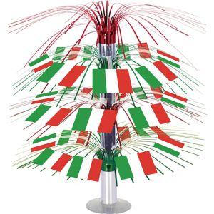 Italian Flag Cascade Centerpiece