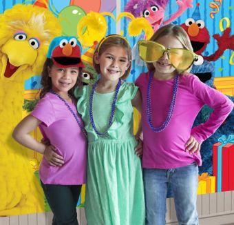 Sesame Street Photo Booth Kit