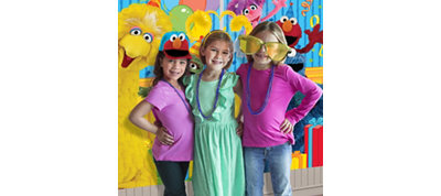 Sesame Street Photo Booth Kit