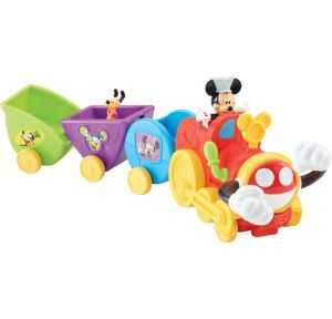 Mickey Mouse Wobble Bobble Choo Choo Train Playset 3pc