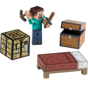 Survival Pack Minecraft Playset 6pc