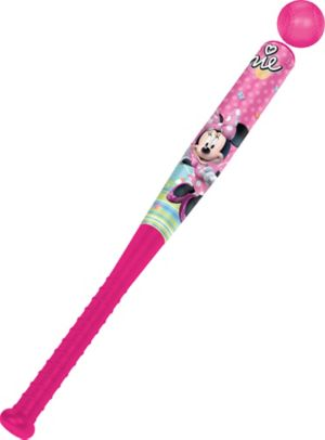Minnie Mouse Toy Baseball Bat Set 2pc
