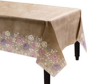 Rustic Floral Wedding Table Cover