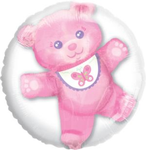 Pink Bear Balloon - Insider