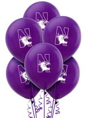 Northwestern Wildcats Balloons 10ct