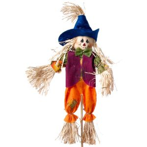 10in Scarecrow Purple/Orange
