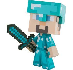 Steve Action Figure Playset 3pc - Minecraft
