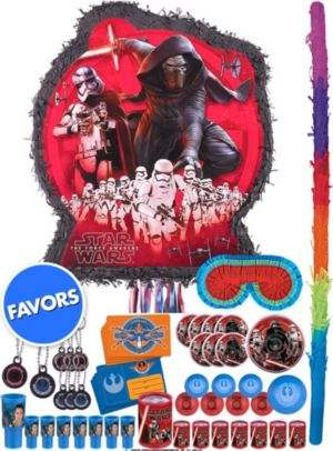 Star Wars 7 The Force Awakens Pinata Kit with Favors