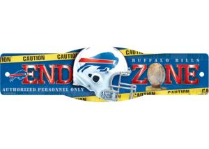 Buffalo Bills End Zone Sign