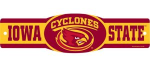 Iowa State Cyclones Street Sign