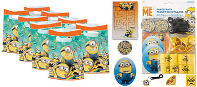 Despicable Me Basic Favor Kit for 8 Guests