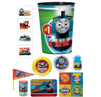 Thomas the Tank Engine Super Favor Kit for 8 Guests