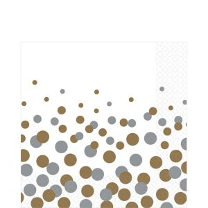 Bubbly Celebration Lunch Napkins 16ct