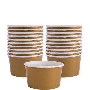 Gold Paper Treat Cups 20ct