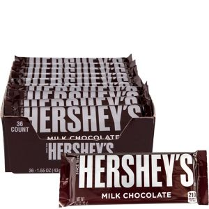 Milk Chocolate Hershey's Bars 36ct