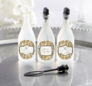 PERSONALIZED Wedding Bubbles (Printed Label) (50th Anniversary)