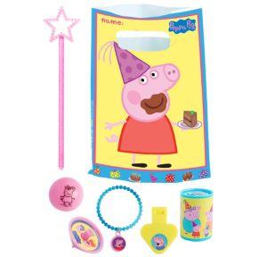 Peppa Pig Basic Favor Kit for 8 Guests