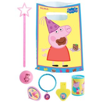 Peppa Pig Basic Favor Kit for 8 Guests