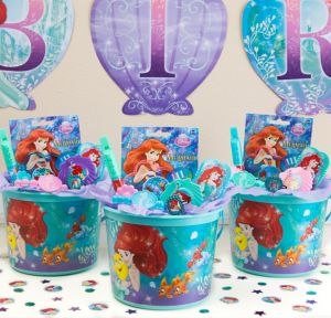 Little Mermaid Ultimate Favor Kit for 8 Guests