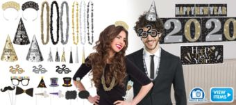 Midnight Party Photo Booth Kit