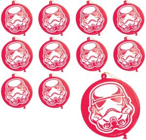 Stormtrooper Punch Balloons 24ct - Star Wars