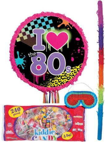 Totally 80s Pinata Kit